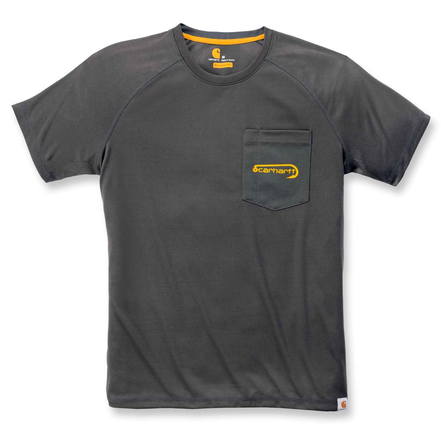 Футболка Carhartt Fishing T-Shirt S/S - 103570 (Shadow, XS)