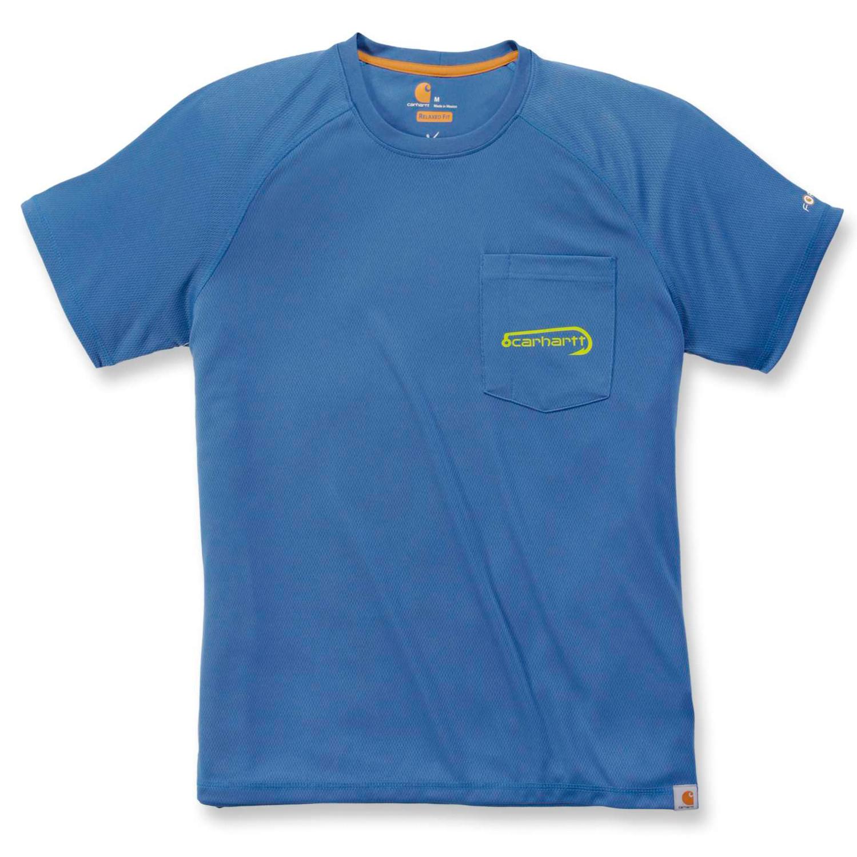 Футболка Carhartt Fishing T-Shirt S/S - 103570 (Federal Blue, XS)