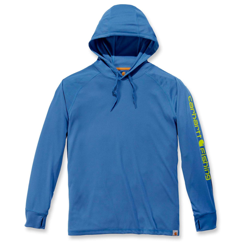 Худи Carhartt Fishing Hooded T-Shirt L/S - 103572 (Federal Blue, M)