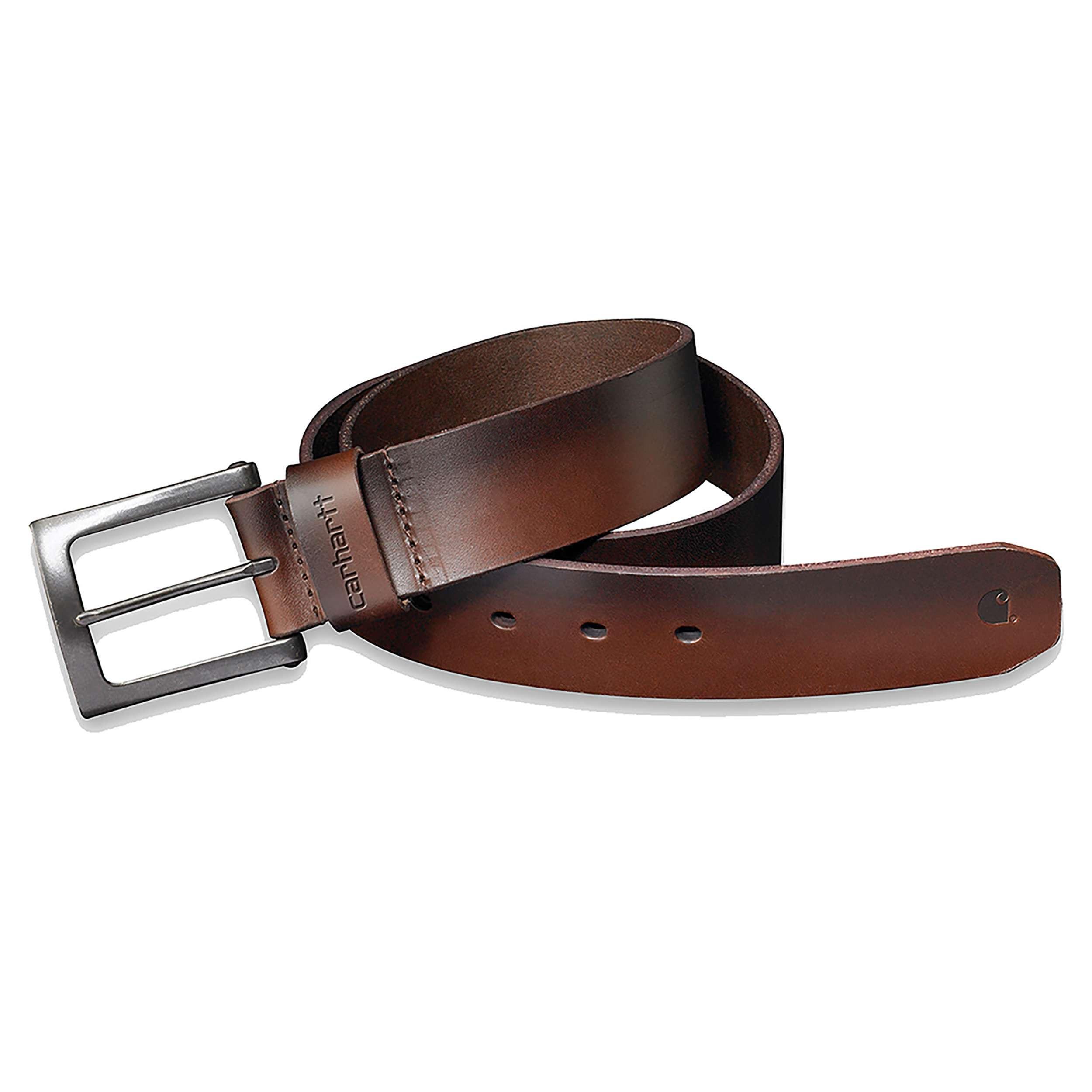 Ремень кожаный Carhartt Anvil Belt - 2203 (Carhartt Brown, W38)