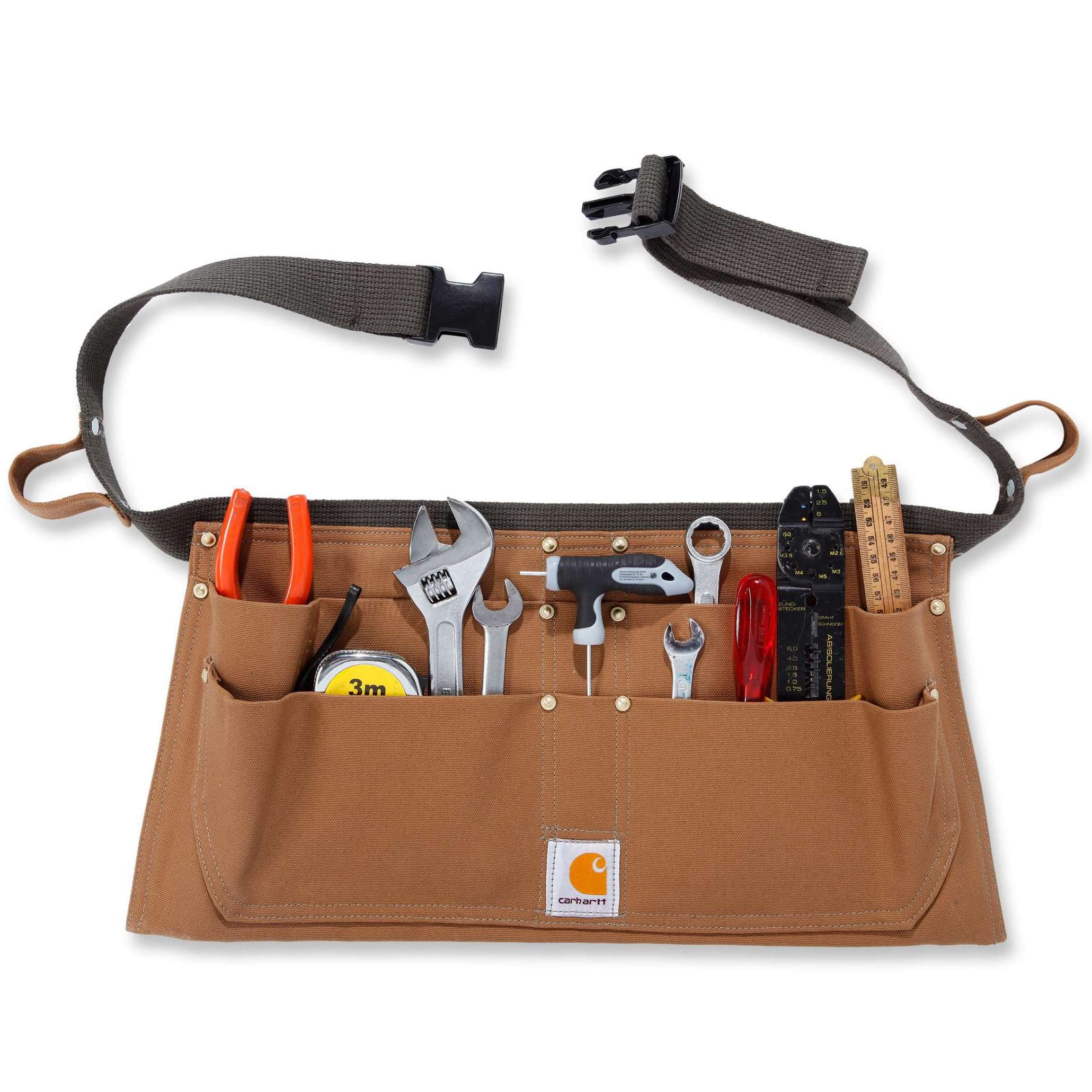Ремень для инструментов Carhartt  Duck Tool Belt - A09 (Carhartt Brown, S-M)