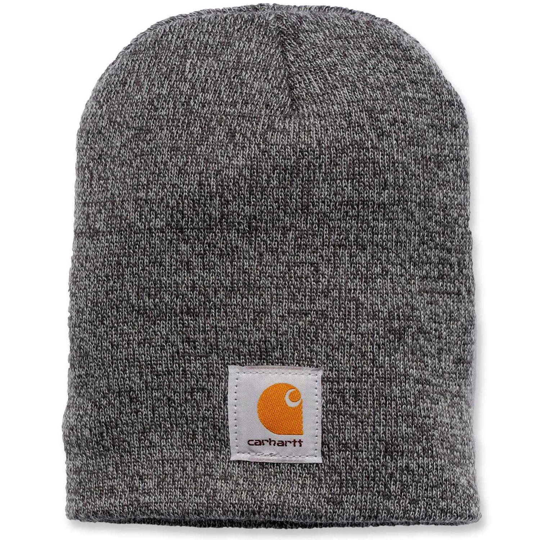 Шапка Carhartt Acrylic Knit Hat - A205 (Grey/Coal Heather, OFA)