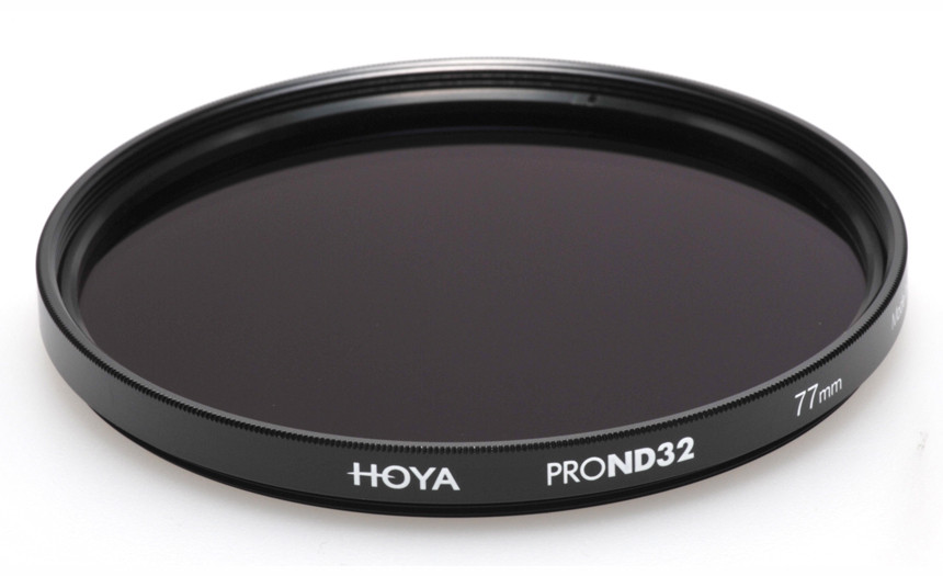 Фильтр нейтрально-серый Hoya Pro ND 32 (5 стопов) 77 мм