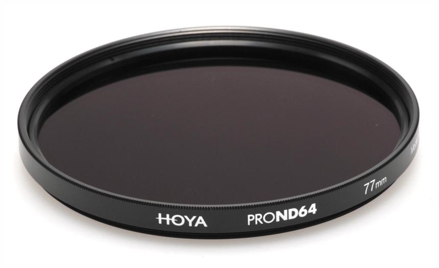 Фильтр нейтрально-серый Hoya Pro ND 64 (6 стопов) 77 мм