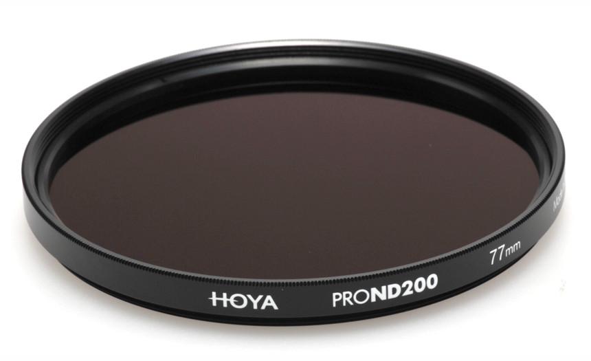 Фильтр нейтрально-серый Hoya Pro ND 200 (7,6 стопа) 77 мм