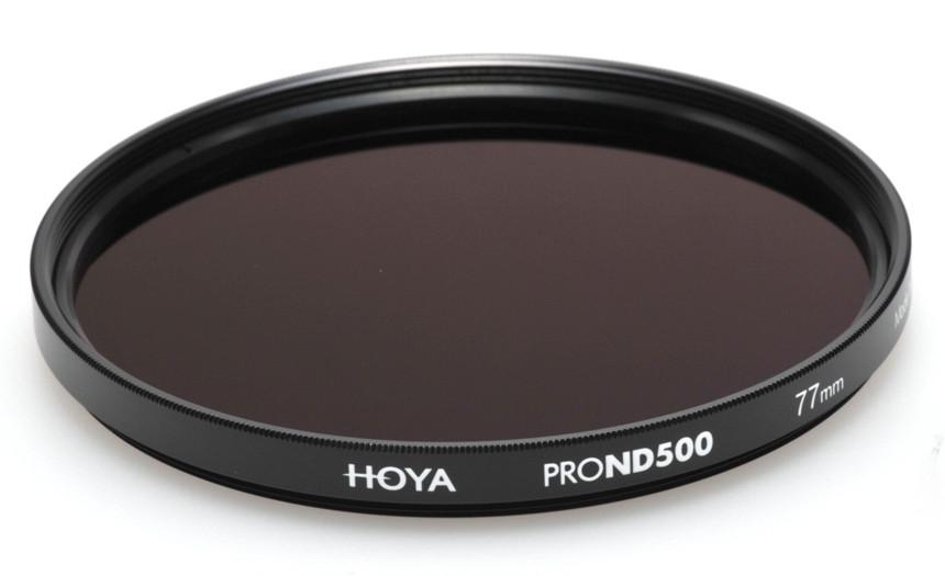 Фильтр нейтрально-серый Hoya Pro ND 500 (9 стопов) 82 мм