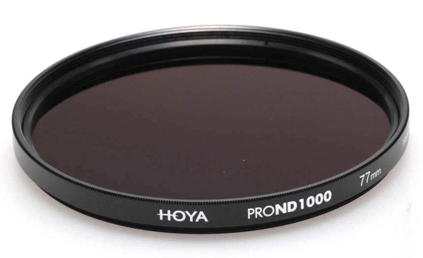 Фильтр нейтрально-серый Hoya Pro ND 1000 (10 стопов) 72 мм