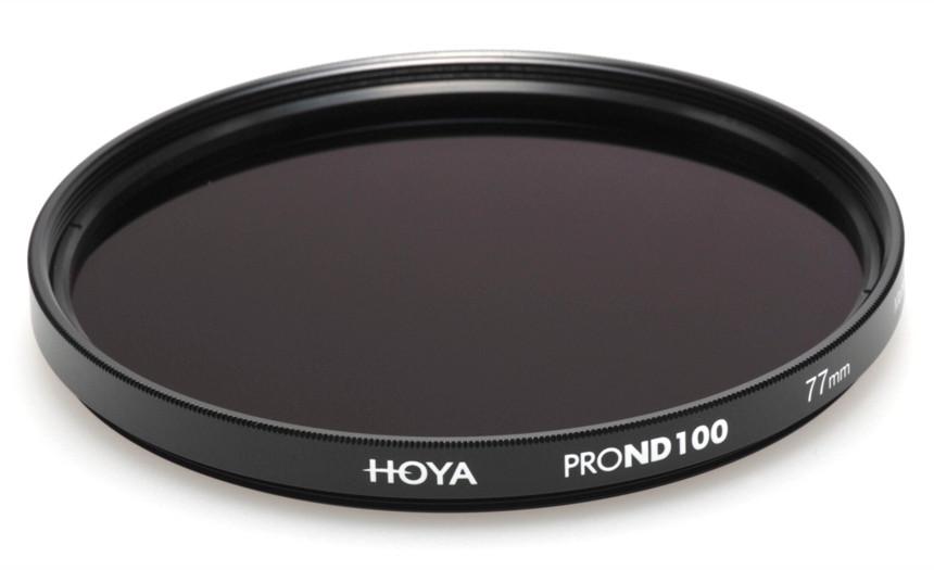Фильтр нейтрально-серый Hoya Pro ND 100 (6,6 стопа) 77 мм
