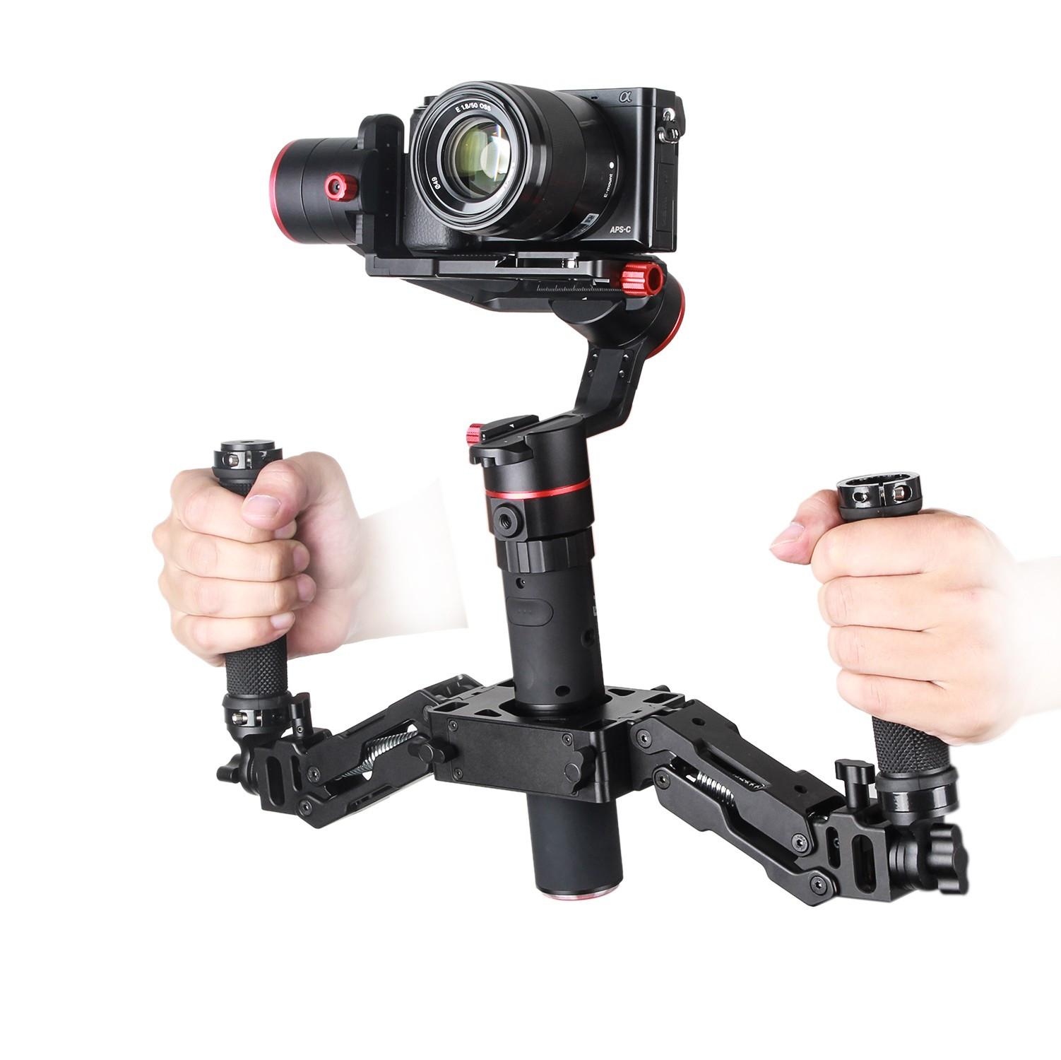 Стабилизатор Feiyu A2000 Gimbal & Dual Grip Handle Kit