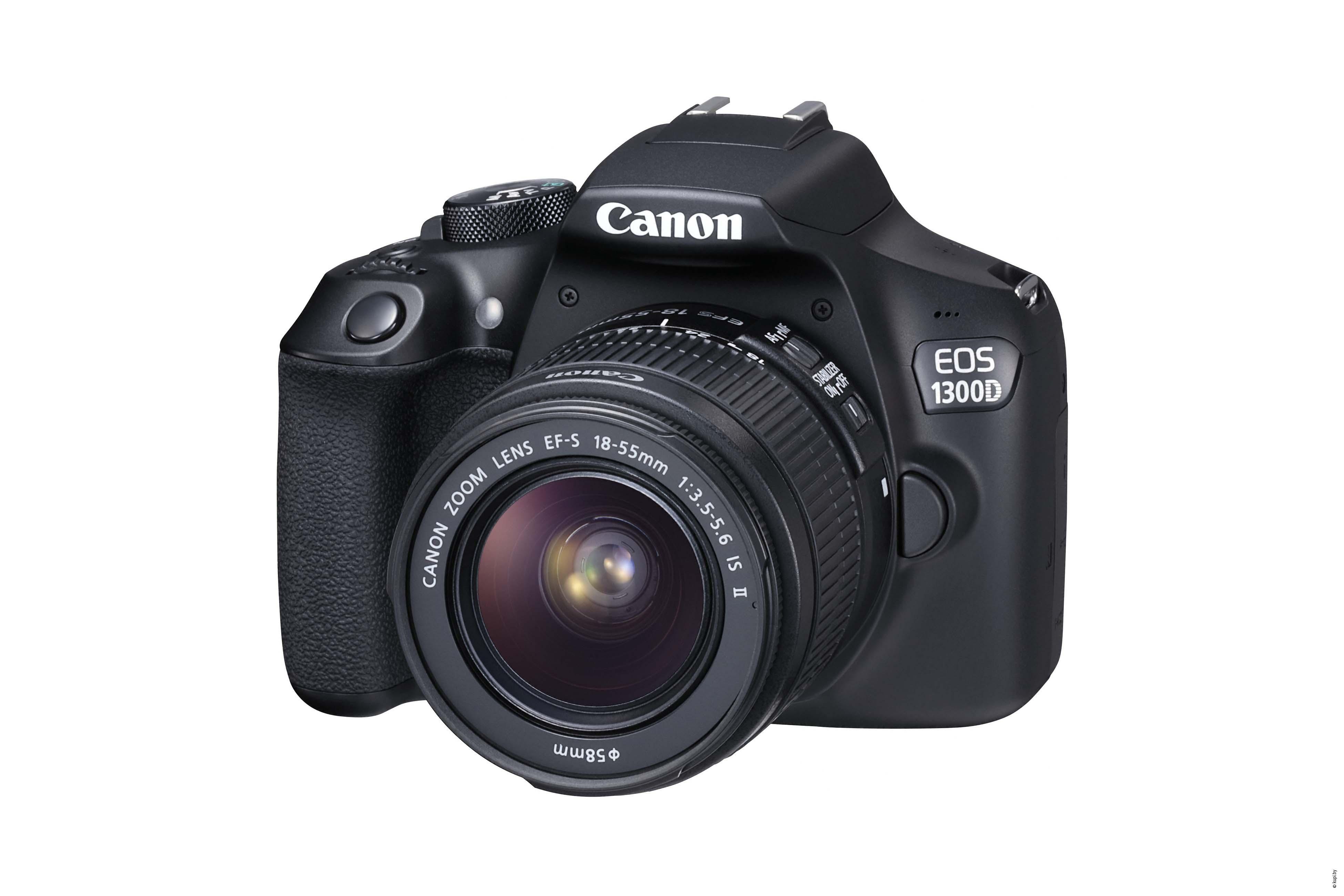 Фотоаппарат Canon EOS 1300D Kit 18-55 IS II