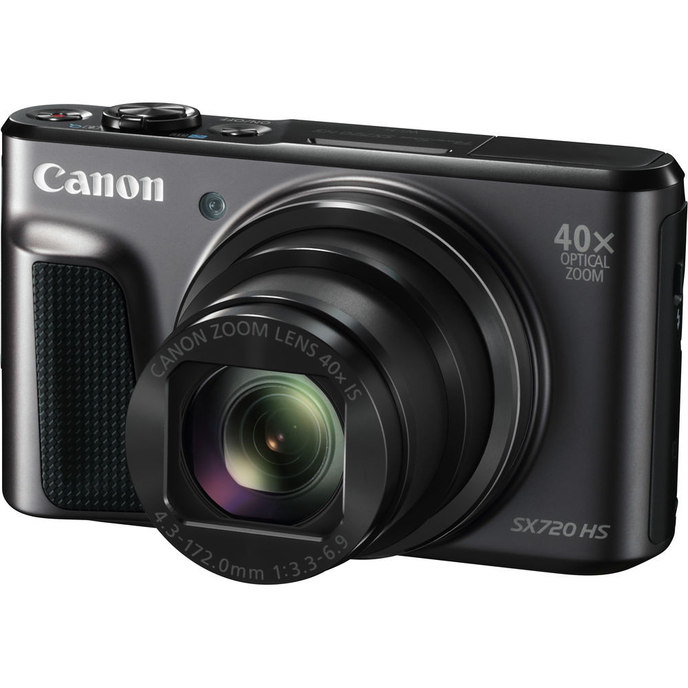 Фотоаппарат Canon PowerShot SX720 Black