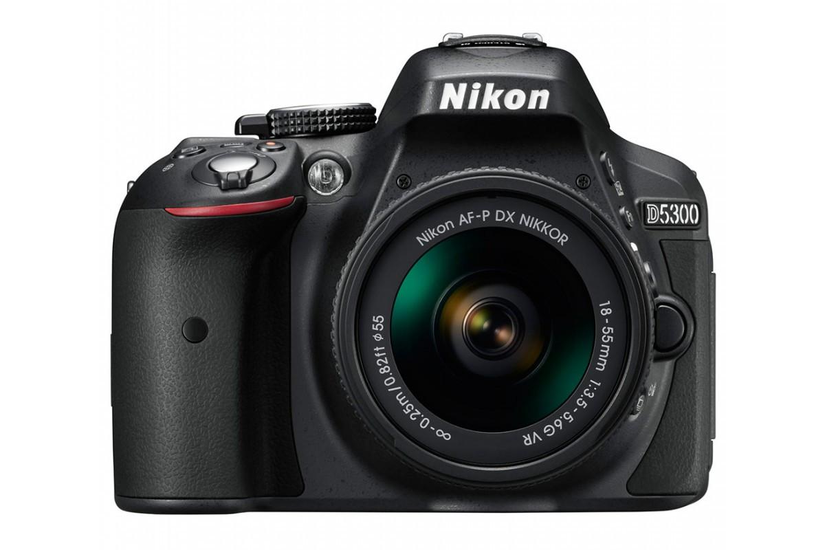 Фотоаппарат Nikon D5300 Kit 18-55 AF-P VR
