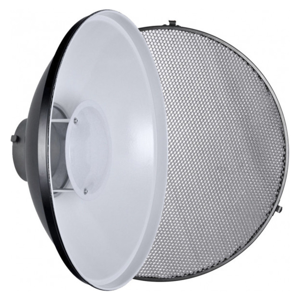 Портретная тарелка белая Godox 42см с сотами (BDR-W420, C-01-420)