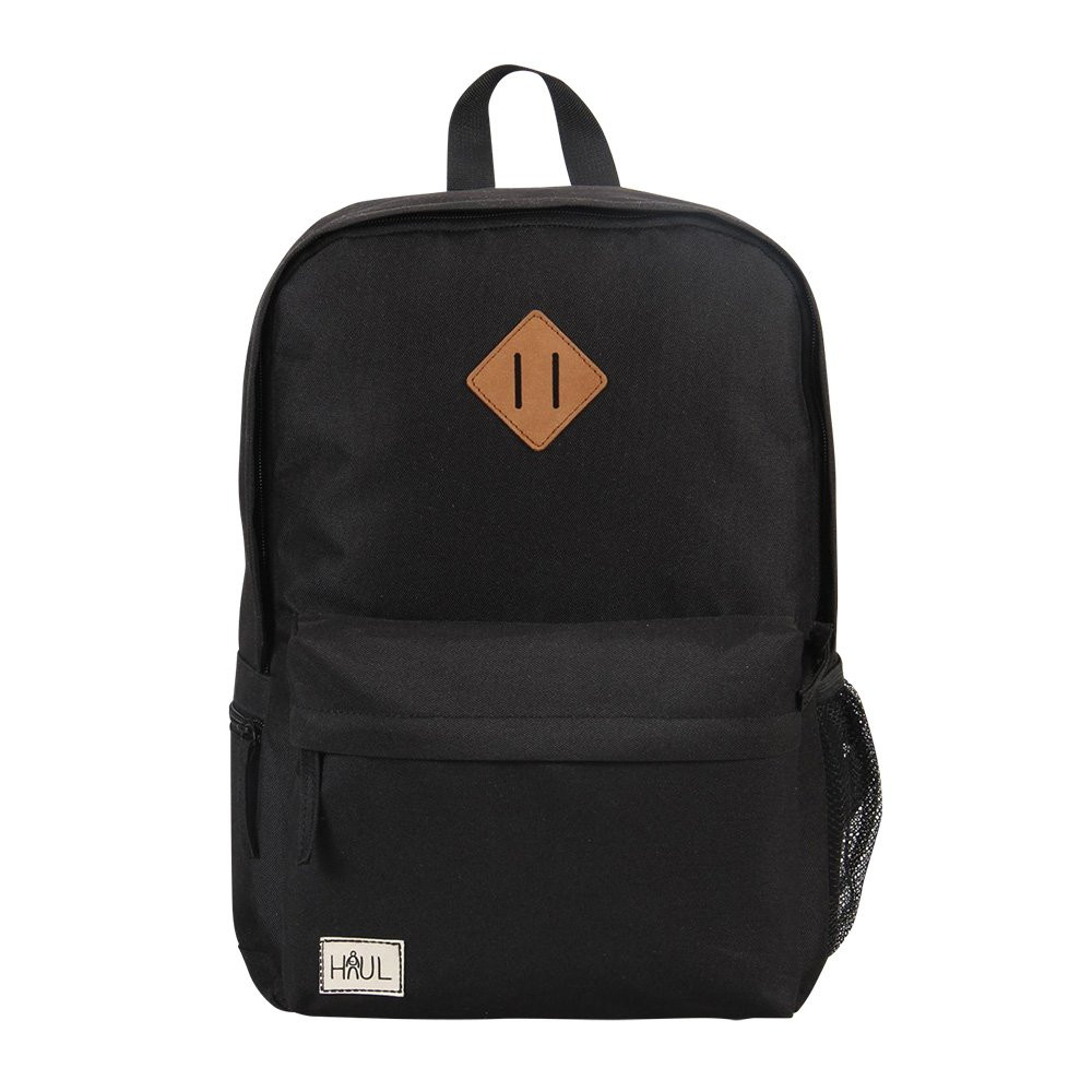 Детский школьный рюкзак Haul Black (30х40х15 см)