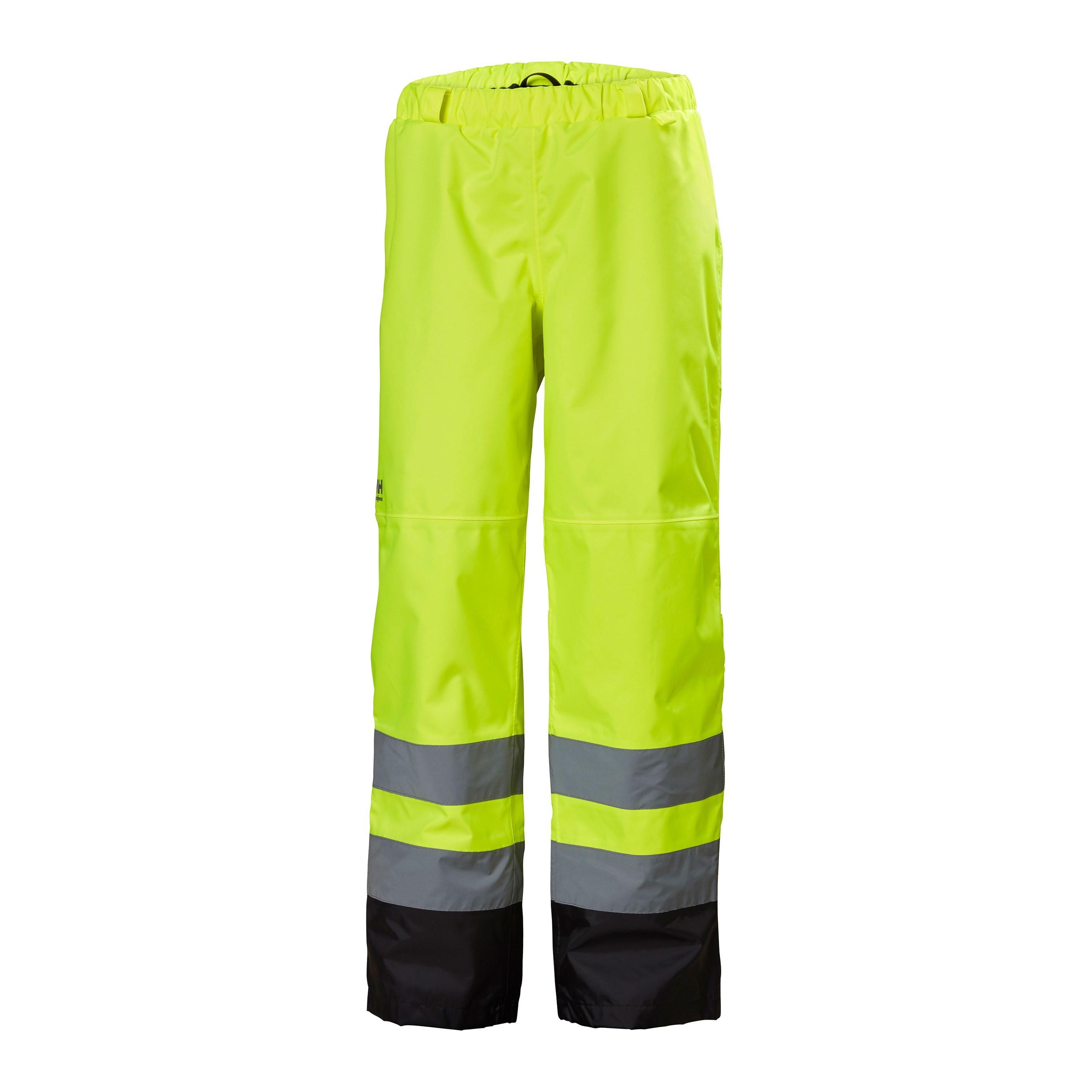 Штаны сигнальные Helly Hansen Alta Shell Pant - 71442 (Hv Yellow/Charcoal; L)