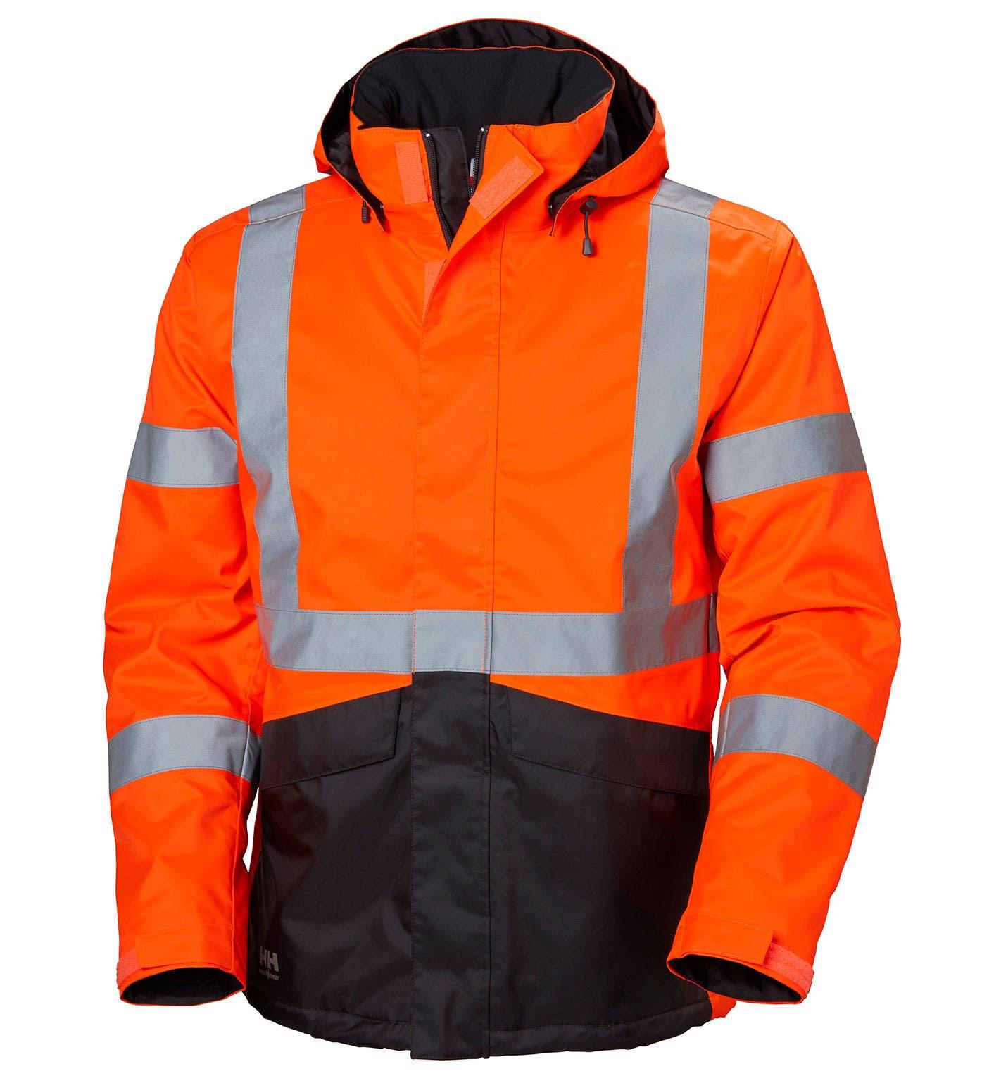 Куртка сигнальная Helly Hansen Alta Winter Jacket - 71332 (Orange/Ebony; M)