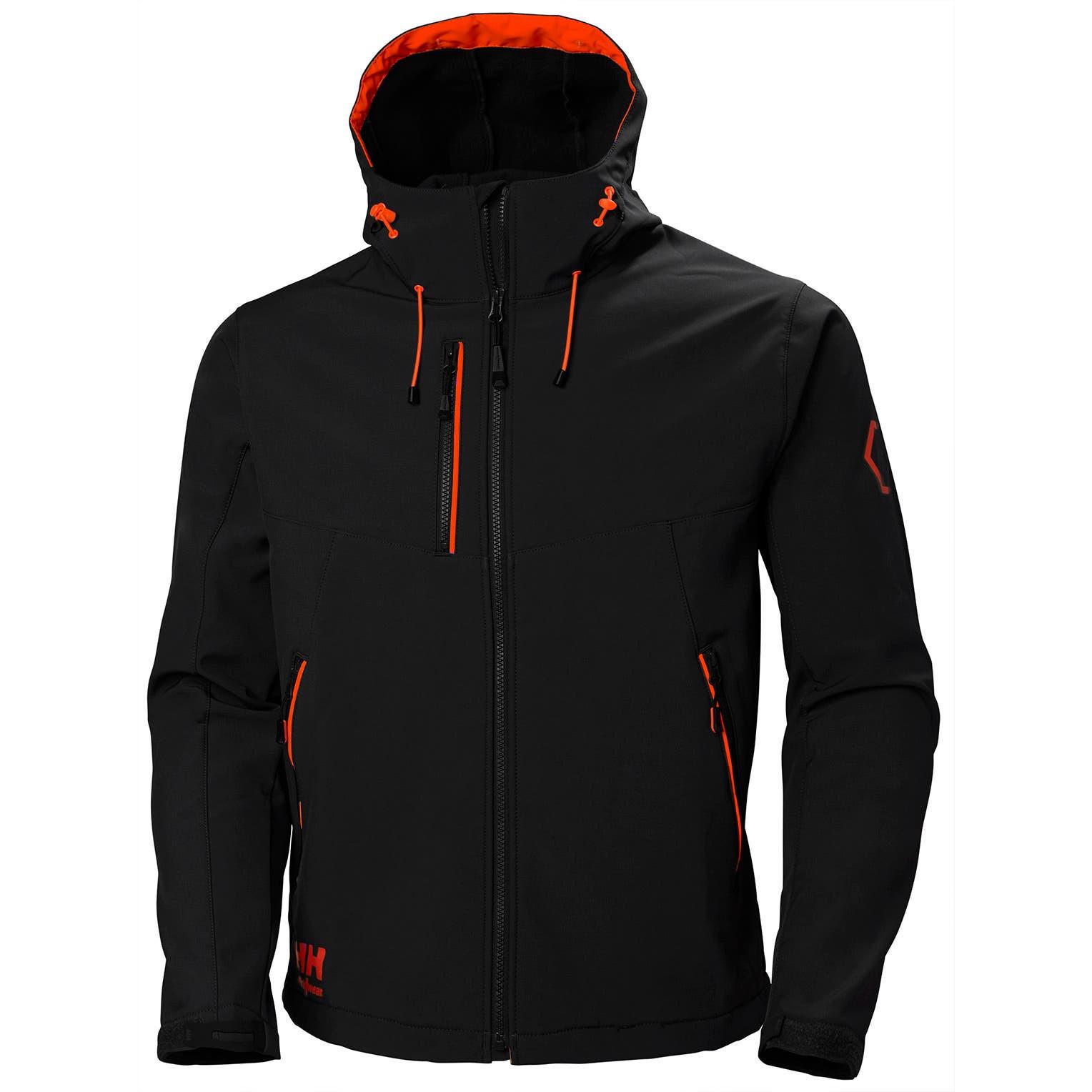 Куртка Helly Hansen Chelsea Evolution Hooded Softshell - 74140 (Black; S)