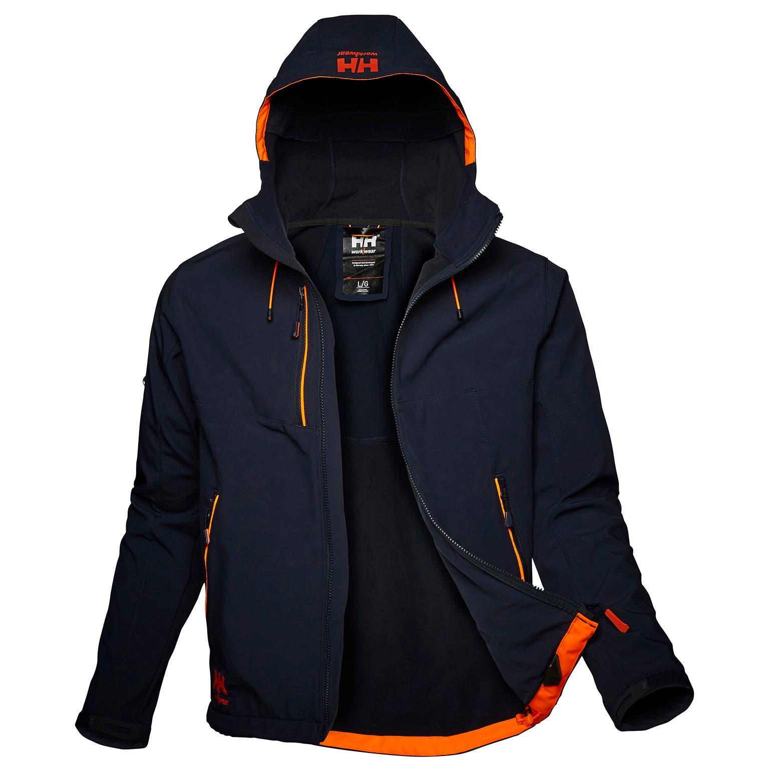 Куртка Helly Hansen Chelsea Evolution Hooded Softshell - 74140 (Navy; L)