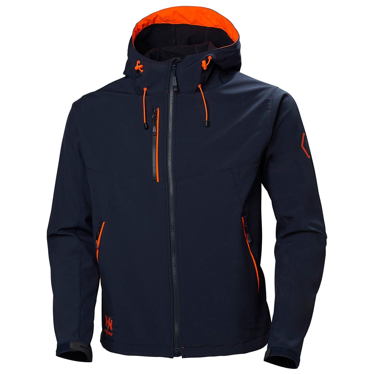 Куртка Helly Hansen Chelsea Evolution Hooded Softshell - 74140 (Navy; M)