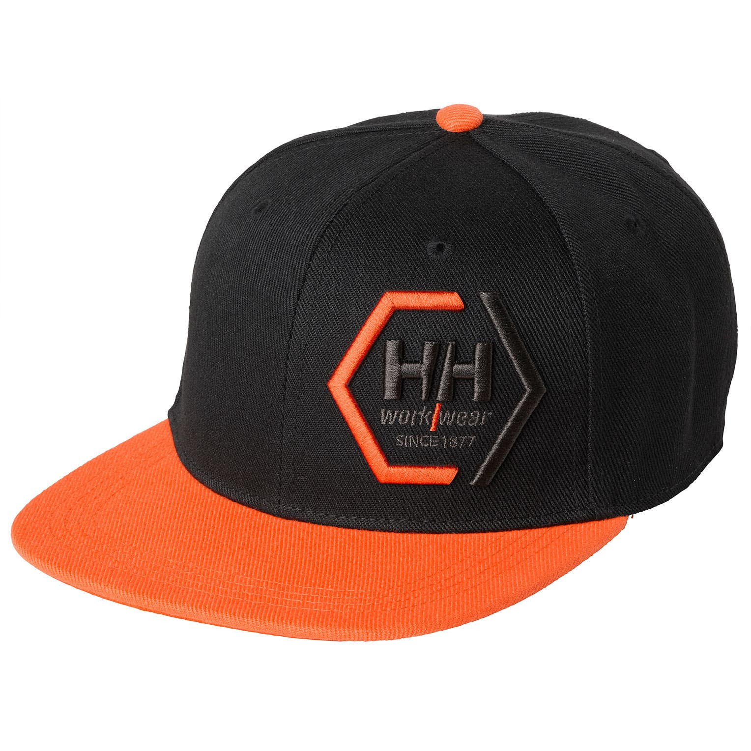 Кепка снепбек Helly Hansen Kensington Flat Brim - 79806 (Black/Orange; STD)