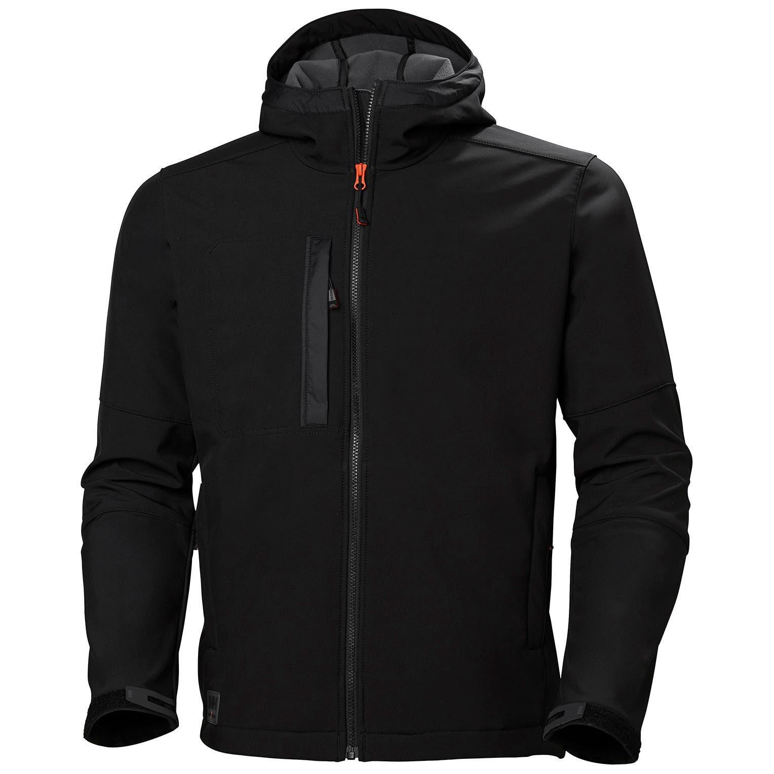Куртка Helly Hansen Kensington Hooded Softshell - 74230 (Black; M)