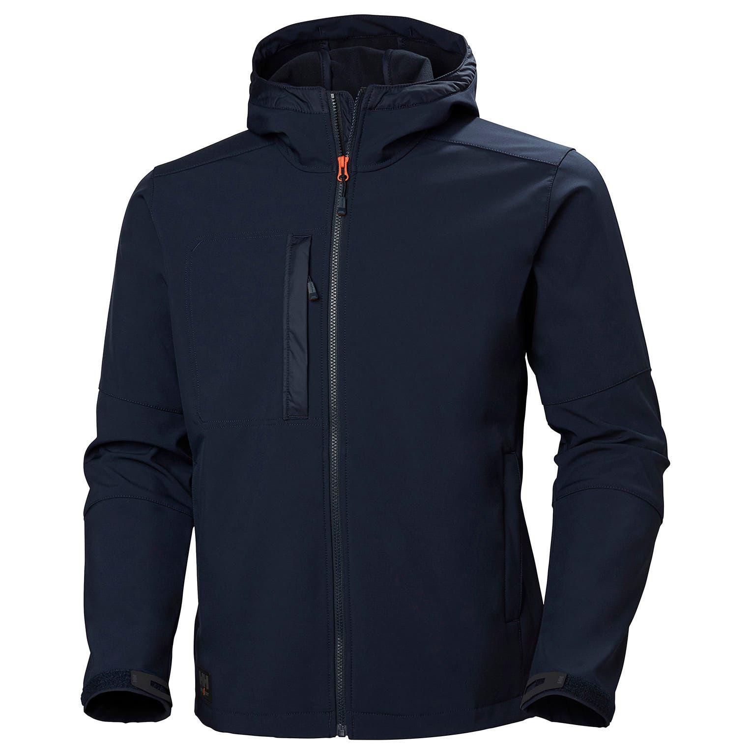 Куртка Helly Hansen Kensington Hooded Softshell - 74230 (Navy; S)