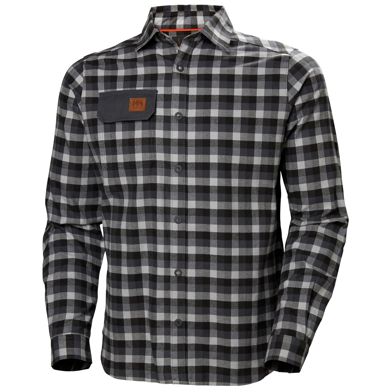 Рубашка Helly Hansen Kensington Shirt - 79111 (Dark Grey; S)