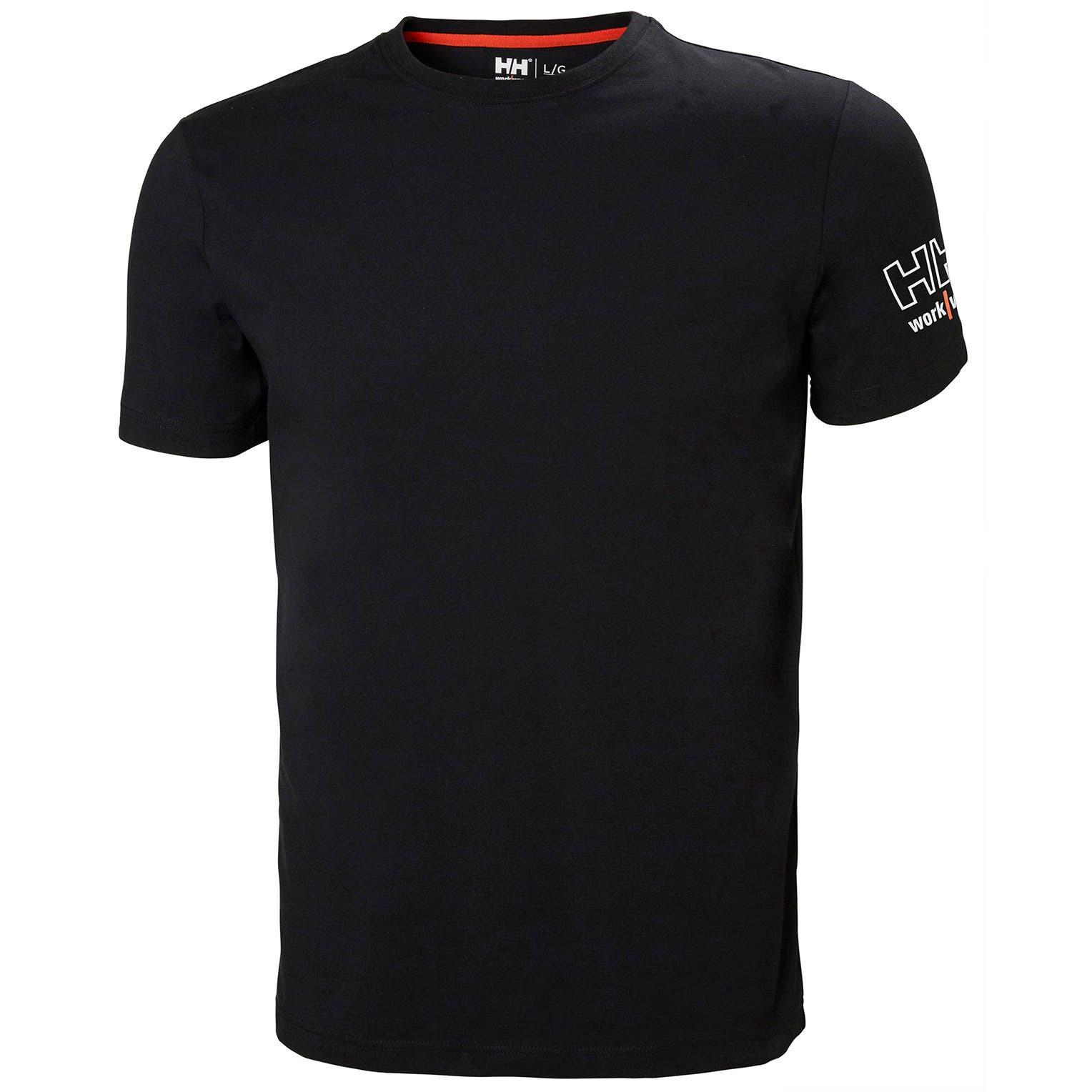 Футболка Helly Hansen Kensington T-Shirt - 79246 (Black, S)