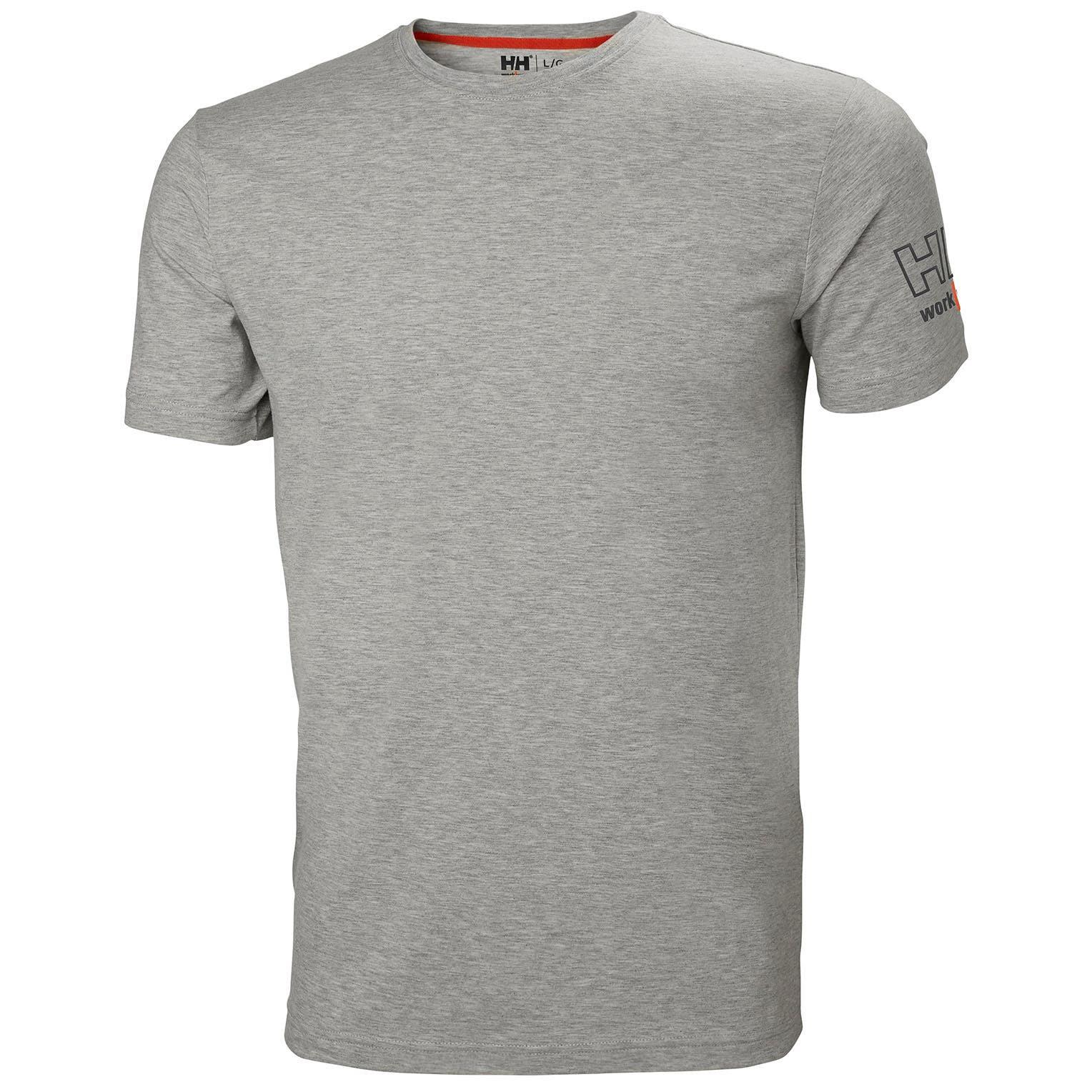 Футболка Helly Hansen Kensington T-Shirt - 79246 (Grey Melange, M)