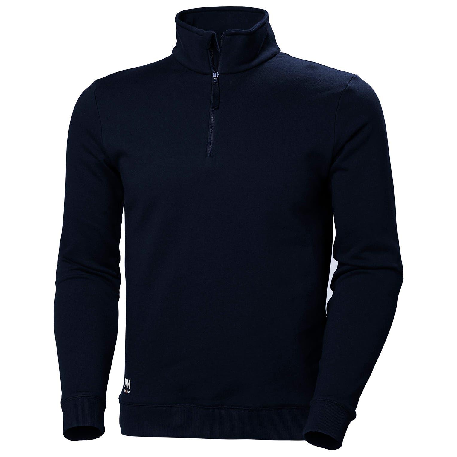 Свитшот на молнии Helly Hansen Manchester Hz Sweatshirt - 79210 (Navy)