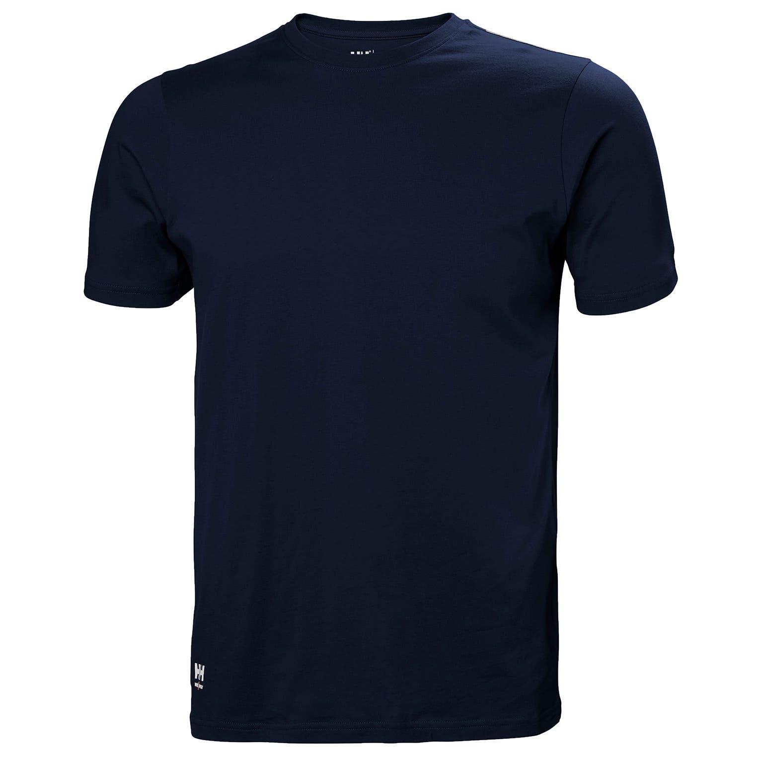 Футболка Helly Hansen Manchester T-Shirt - 79161 (Navy; L)