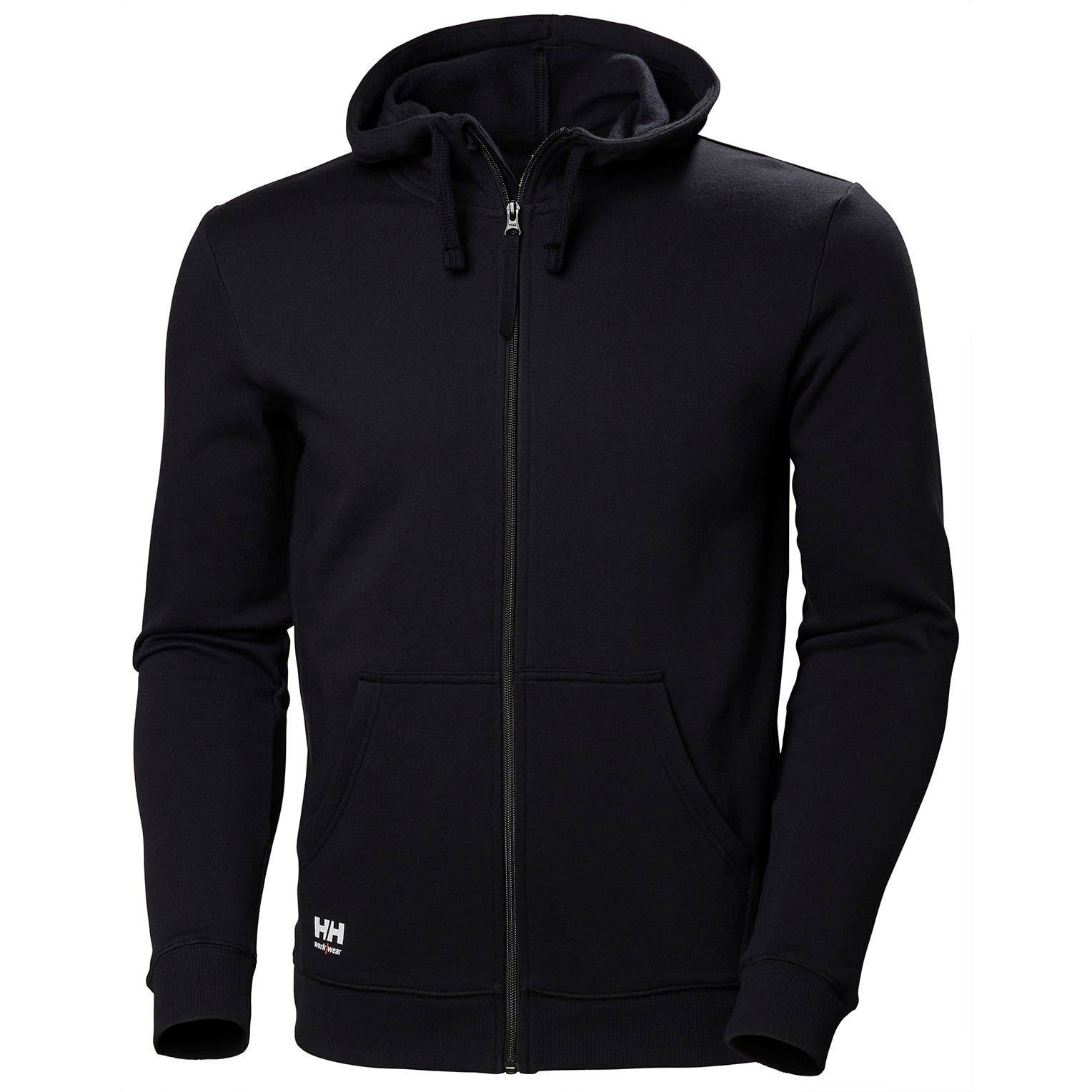 Худи на молнии Helly Hansen Manchester Zip Hoodie - 79216 (Black; XL)