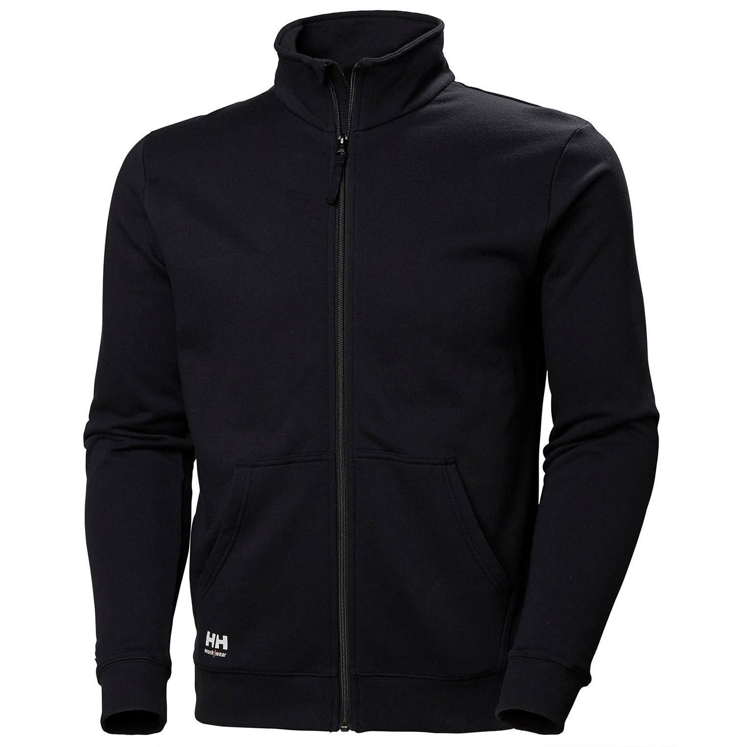 Свитшот на молнии Helly Hansen Manchester Zip Sweatshirt - 79212 (Black; XL)