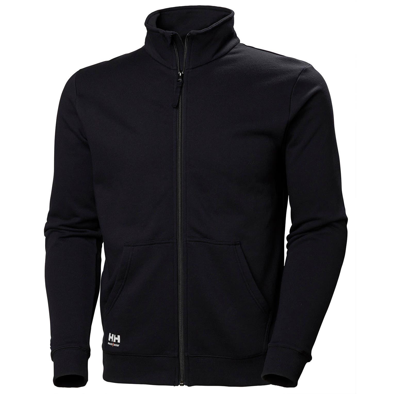 Свитшот на молнии Helly Hansen Manchester Zip Sweatshirt - 79212 (Black; L)