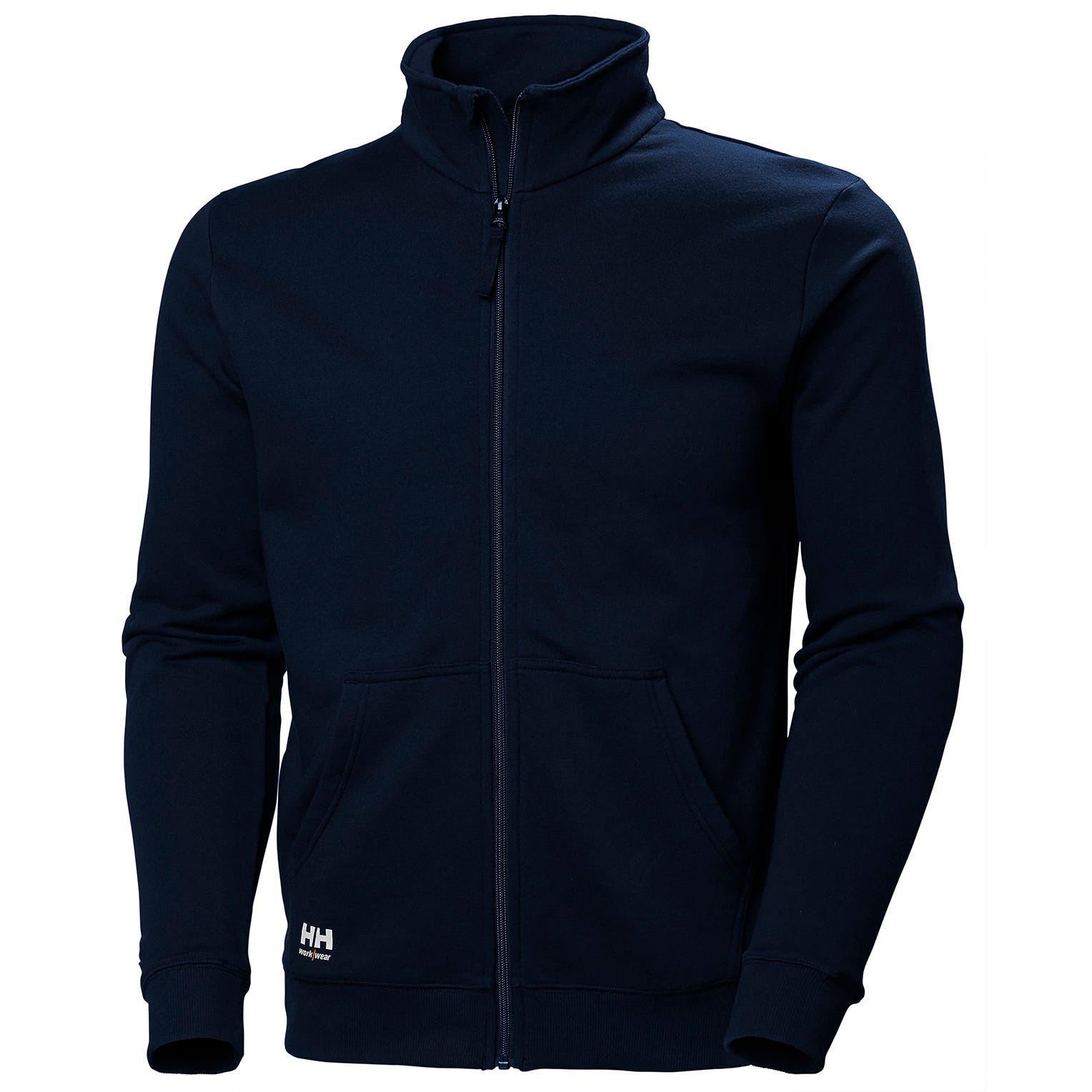 Свитшот на молнии Helly Hansen Manchester Zip Sweatshirt - 79212 (Navy; M)