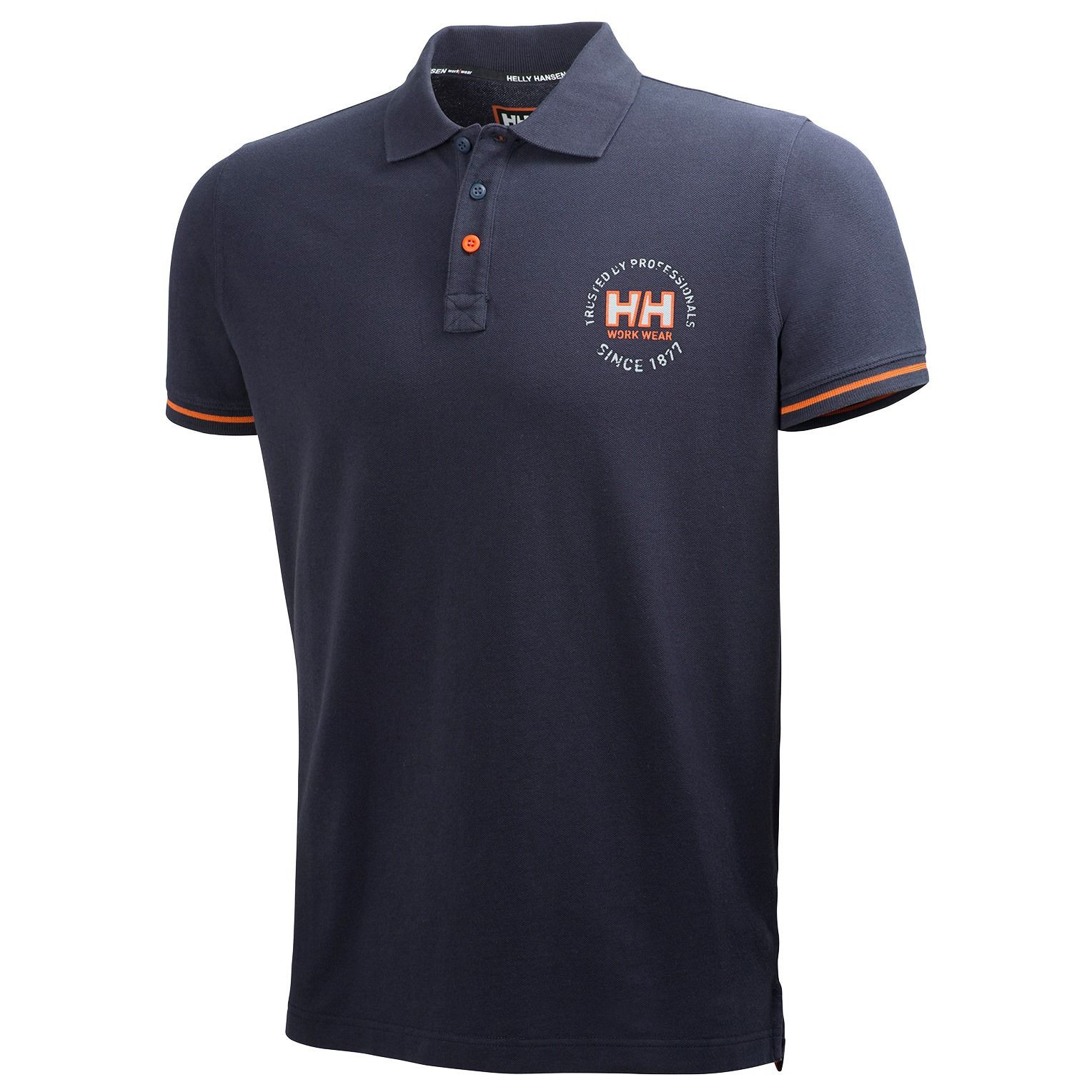 Футболка Helly Hansen Oslo Polo Shirt 79251 (Navy)