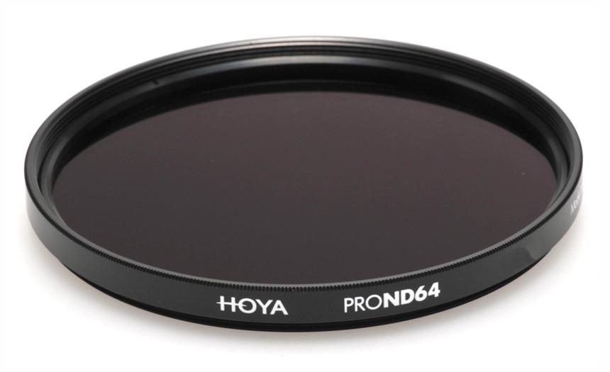 Фильтр нейтрально-серый Hoya Pro ND 64 (6 стопов) 49 мм