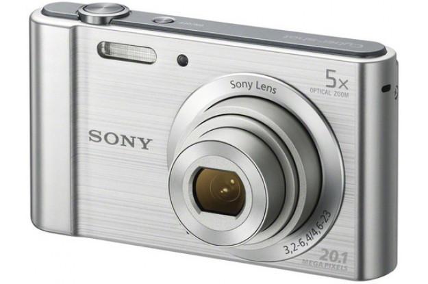 Фотоаппарат Sony Cyber-Shot W800 Silver