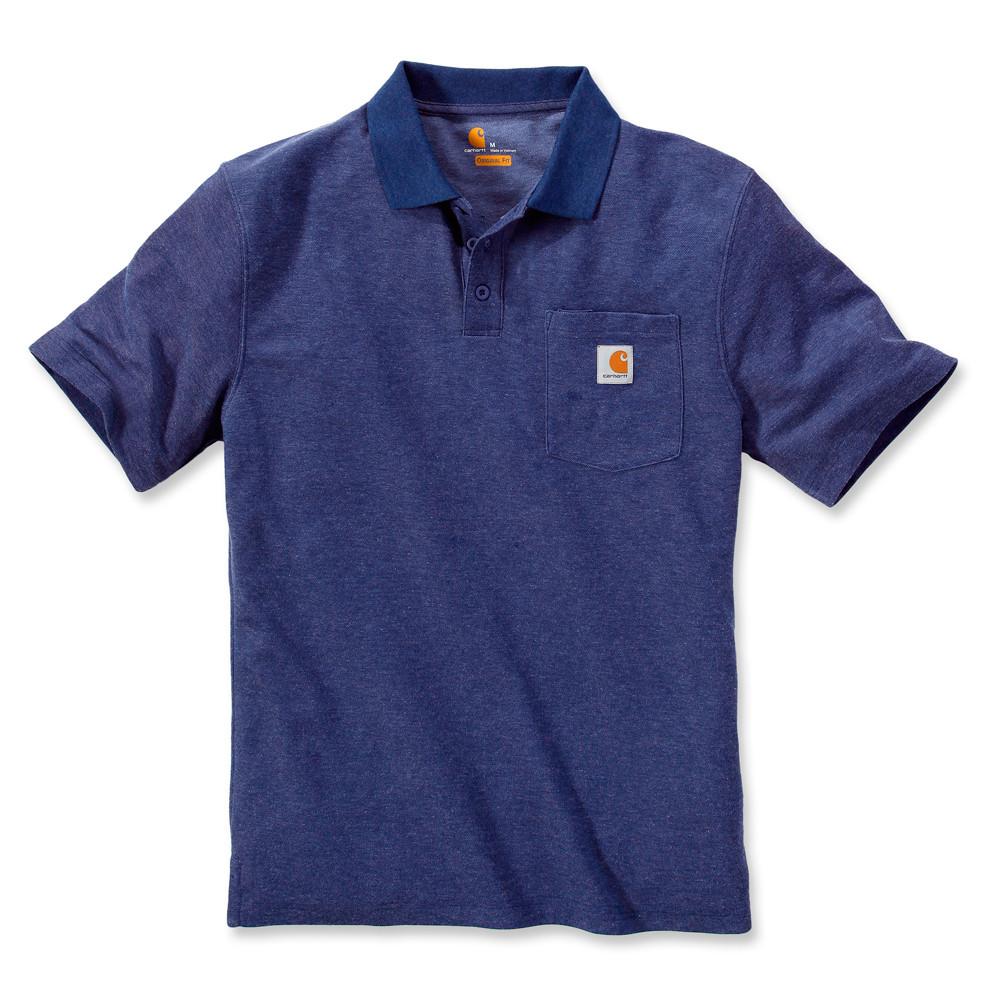 Поло Carhartt Work Pocket Polo (K570)