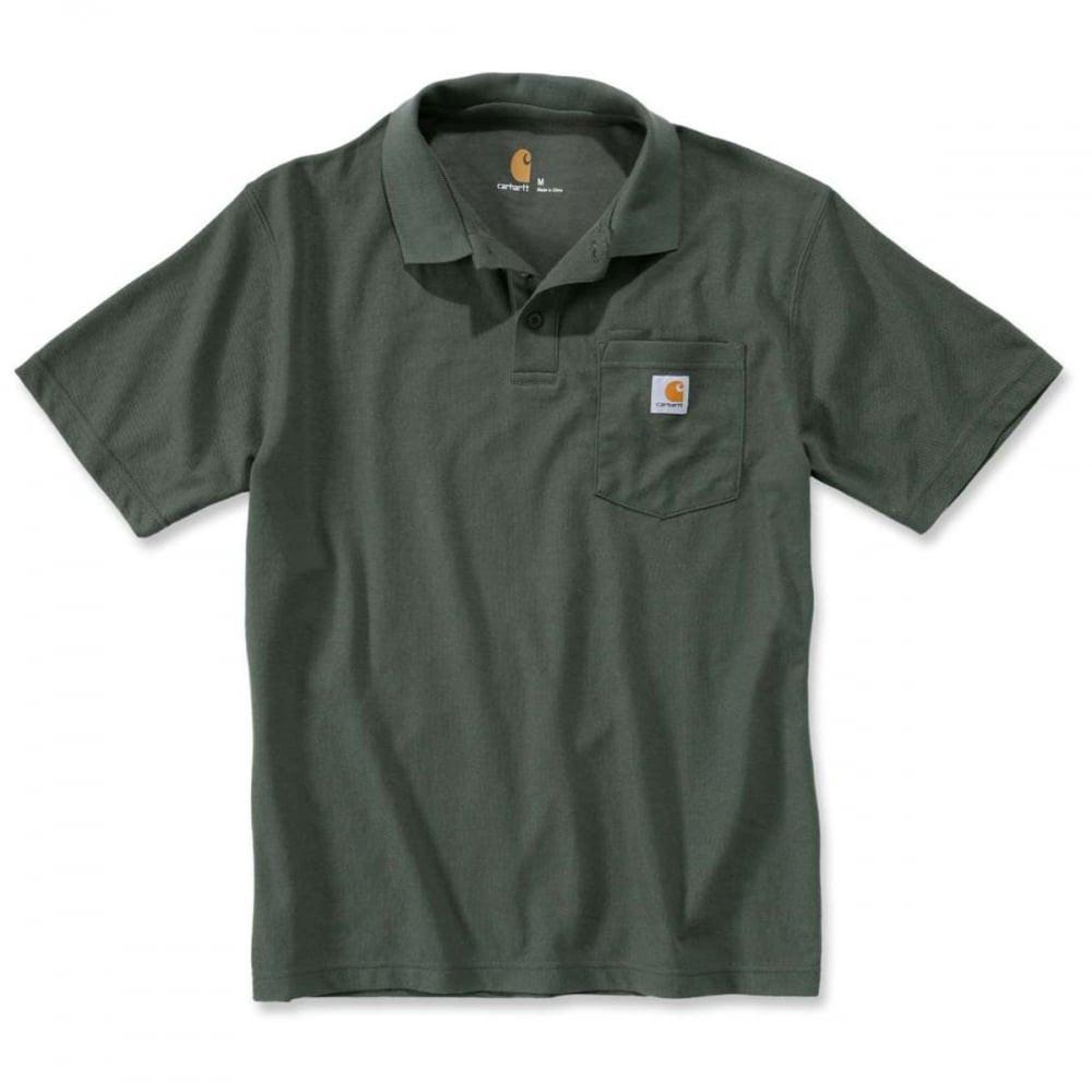 Поло Carhartt Work Pocket Polo S/S - K570 (Moss, L)