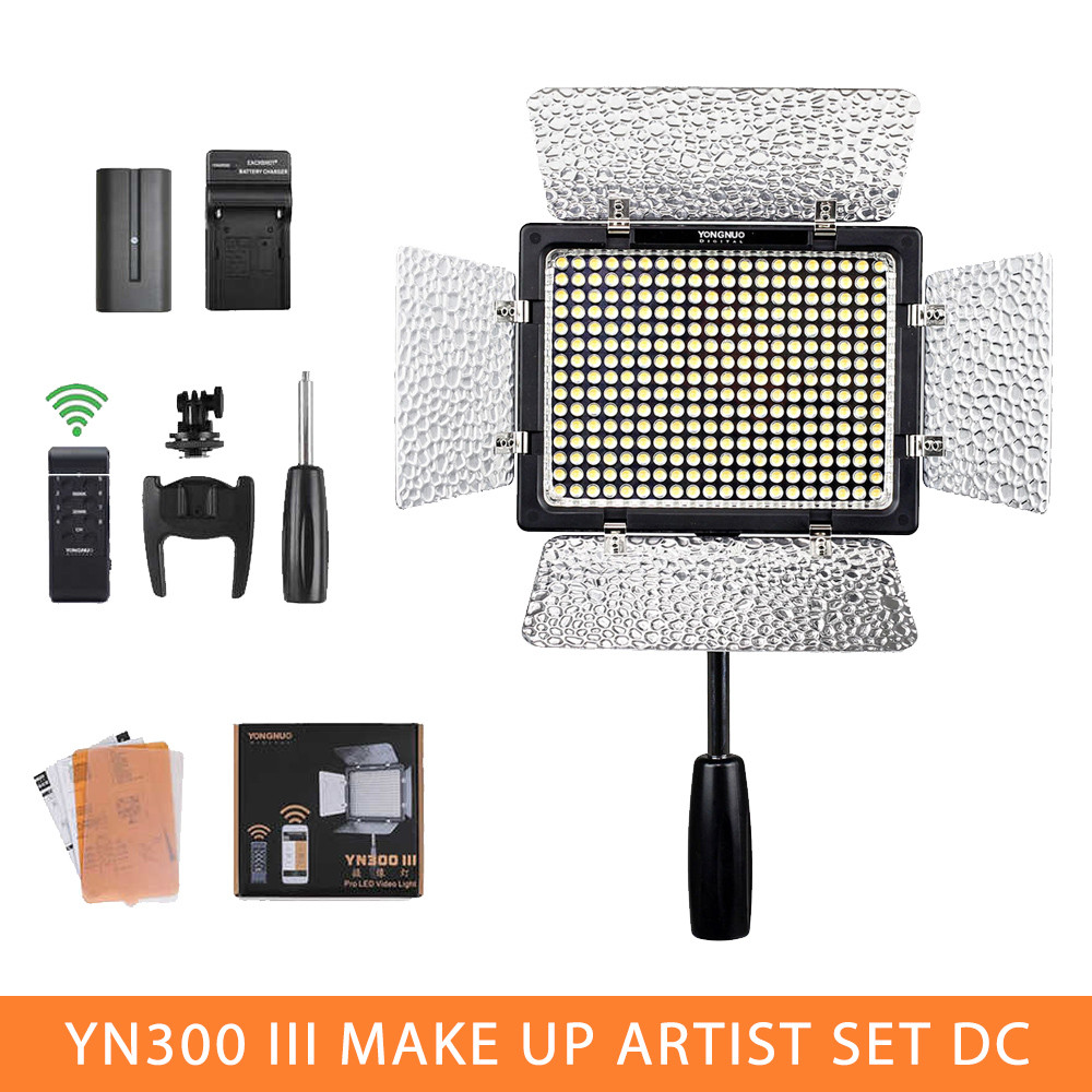 Набор света Make Up Artist Set DC (YN-300III, аккумулятор, зарядное устройство)