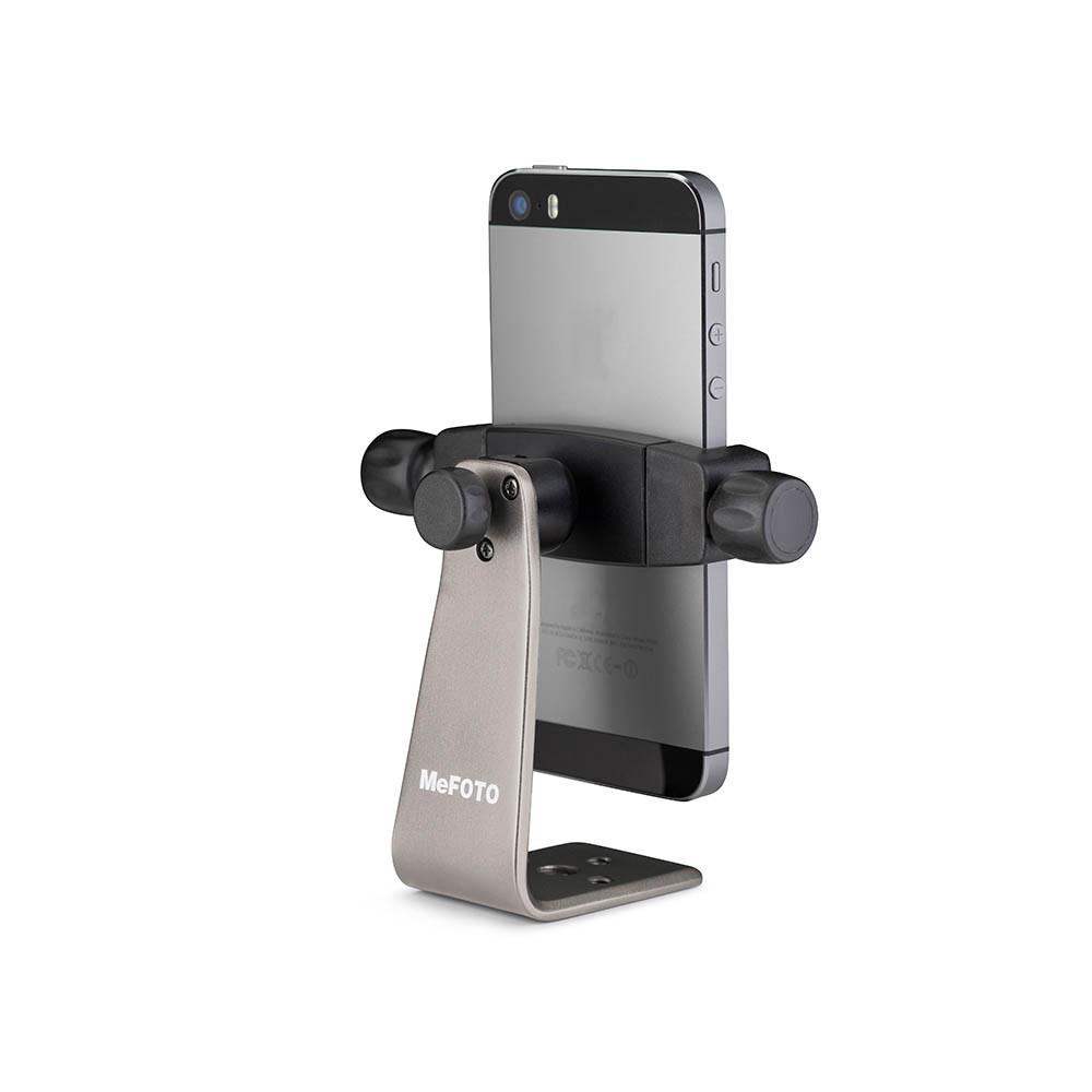 Держатель смартфона 55-73мм MeFOTO Sidekick 360 - Titanium