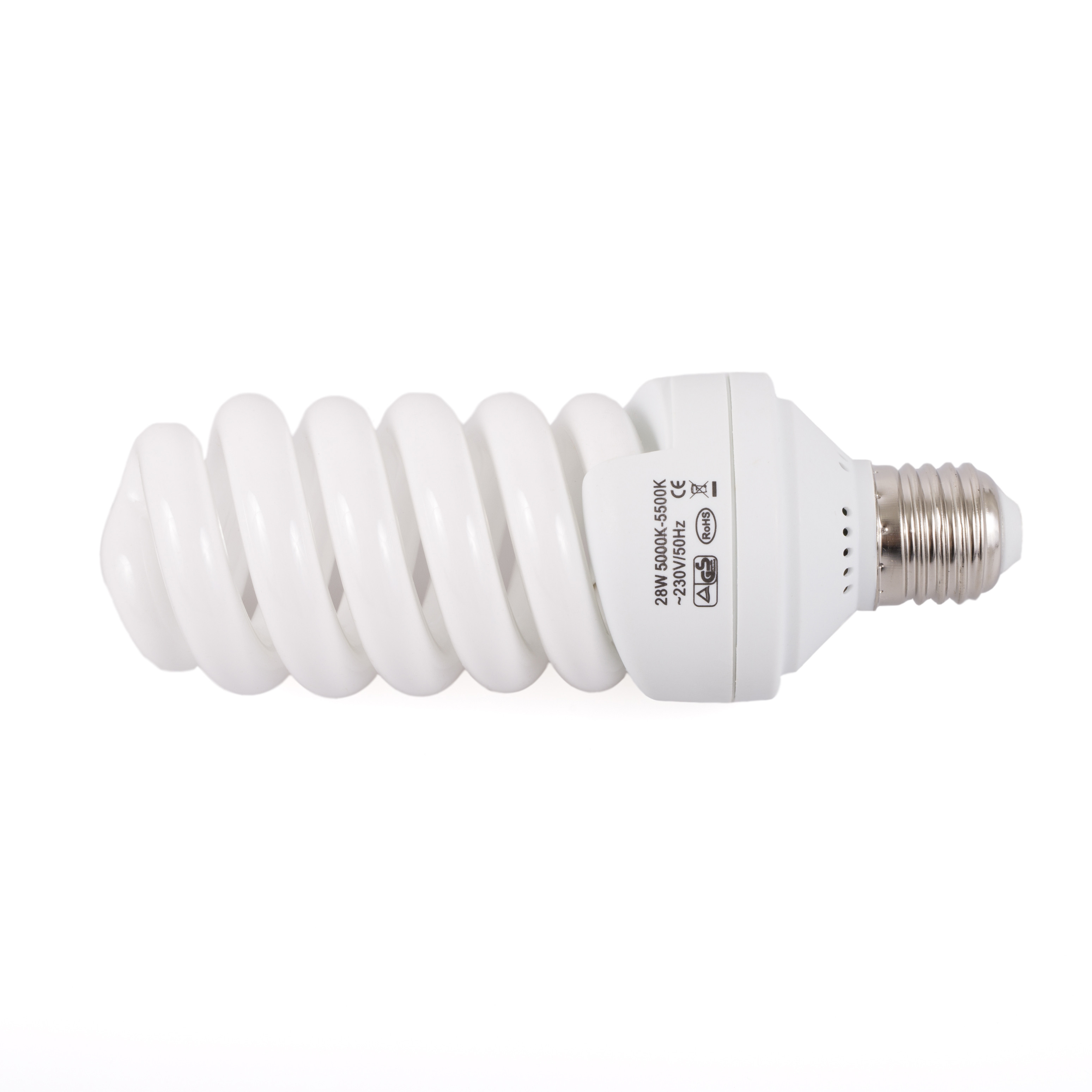 Флуоресцентная лампа Mircopro E27 5500k 28W