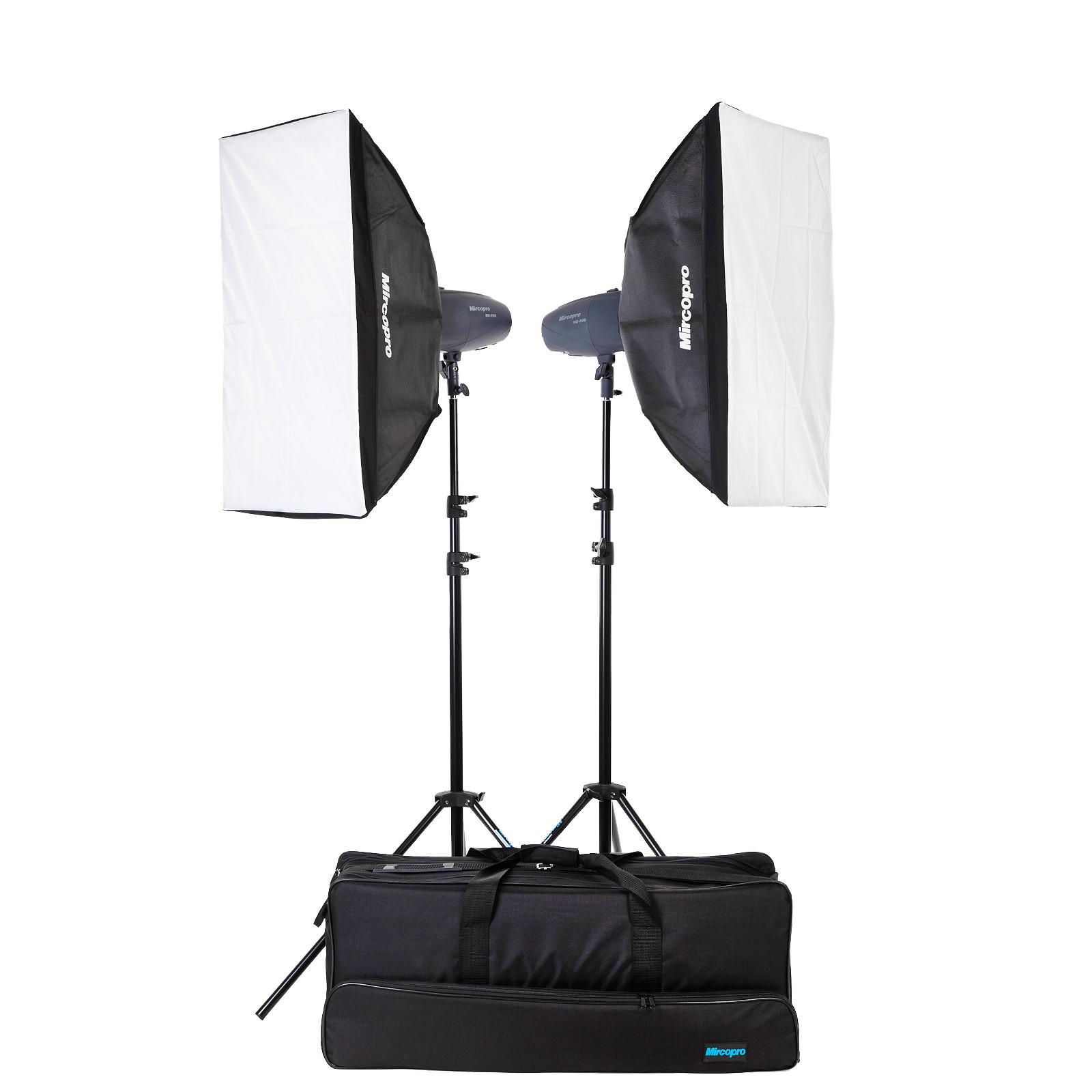 Набор студийного света Mircopro MQ-200S софтбоксы