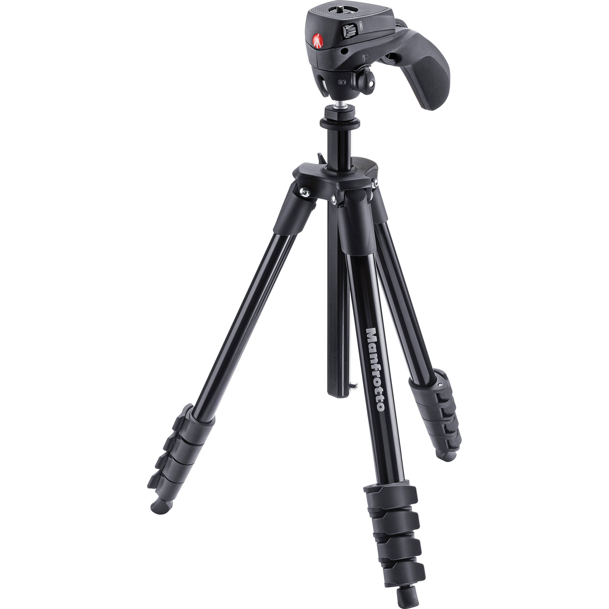 Штатив Manfrotto Compact Action Aluminum Black (MKCOMPACTACN-BK)