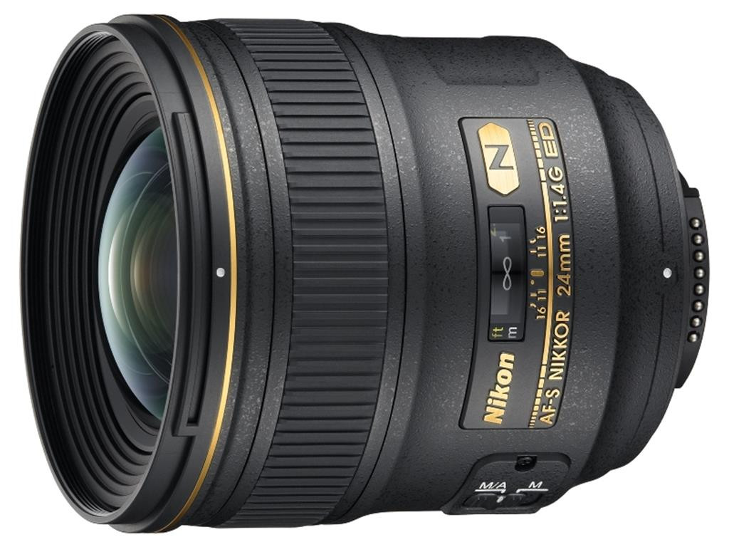 Объектив Nikon AF-S 24mm f/1.4G ED