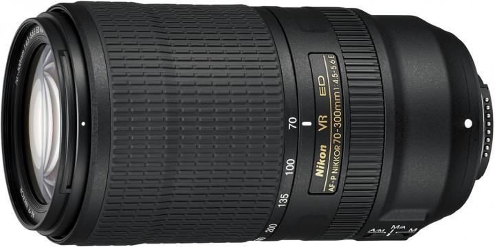 Объектив Nikon AF-P 70-300mm f/4.5-5.6E IF-ED VR