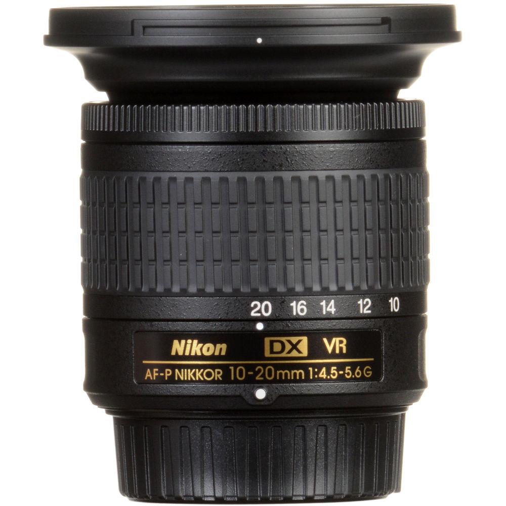 Объектив Nikon AF-P DX 10-20mm f/4.5-5.6G VR