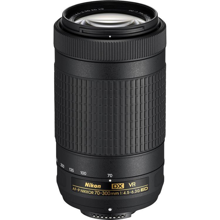 Объектив Nikon AF-P DX 70-300mm f/4.5-6.3G ED VR