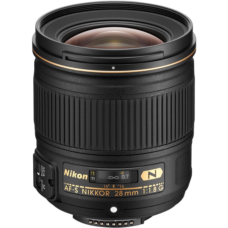 Объектив Nikon AF-S 28mm f/1.8G